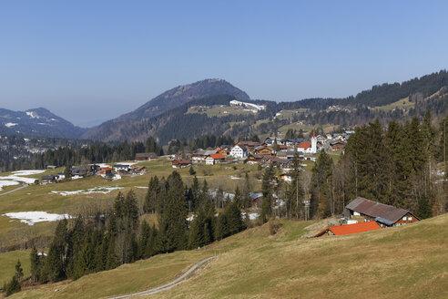 Austria, Vorarlberg, Bregenz Forest, Sibratsgfaell - SIEF005224