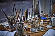 Tools in a violin maker's workshop - DIKF000094