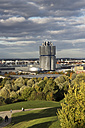 Germany, Bavaria, Munich, View of BMW World and Olympic Park - CSF021186