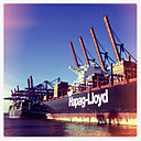 Container port Waltershof, Burchardkai, Port of Hamburg, Germany - SE000642