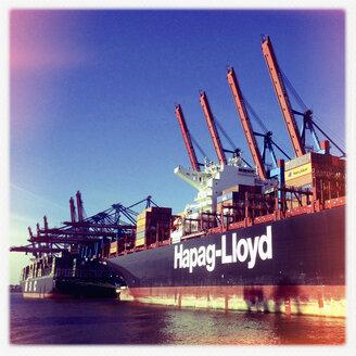 Container port Waltershof, Burchardkai, Port of Hamburg, Germany - SE000642