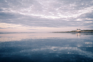 New Zealand, Sunset at Foxton beach - WV000566