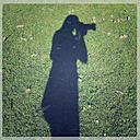 Shadow of a photographer, Landshut, Bavaria, Germany - SARF000436
