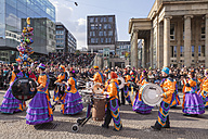 Germany, Baden-Wuerttemberg, Stuttgart, Swabian-Alemannic carnival parade - WD002442