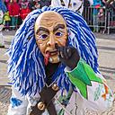 Germany, Baden-Wuerttemberg, Stuttgart, Swabian-Alemannic carnival parade - WD002440