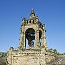Germany, North Rhine Westphalia, Porta Westfalica, Emperor-Wilhelm Monument - HAW000061