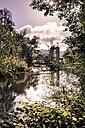 Germany, Bavaria, Coburg, Muehlendammschleuse at Itz river - VTF000197