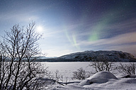 Aurora borealis in Norway near lake Rundvatnet - SR000499