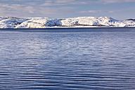Norway,  Karlebotn, Winterlandscape near Varangerfjord - SR000497