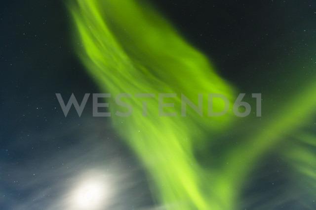 Aurora borealis in Finnland near Saariskalae - SR000480