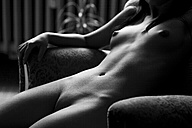 Female nude in armchair - CvK000095