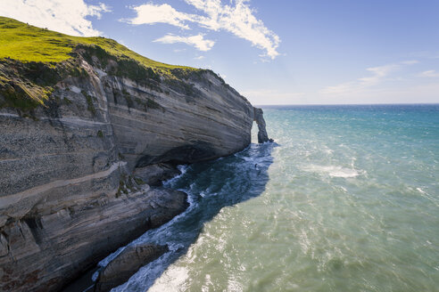 New Zealand, Golden Bay, view to Cape Farewell - WV000633