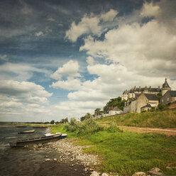 France, Centre, Chaumont-sur-Loire, Chateau at River Loire - DWIF000039