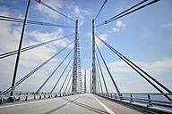 Oeresund Bridge between Copenhagen and Malmoe - BR000190