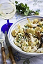 Pasta Alfredo with roasted Cauliflower and Mushrooms - HAWF000100