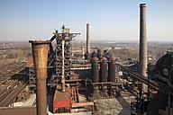Germany, Duisburg, Landschaftspark Duisburg-Nord, View from blast furnace - WI000553