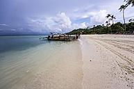 Thailand, Koh Phi Phi Don, Fishing boats at beach - THAF000261