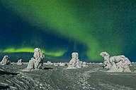 Scandinavia, Finland, Kittilae, Polar lights, Aurora borealis - SR000522