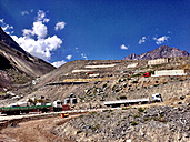 Chile, Argentina, border crossing, Andes, Aconcagua - AVS000025