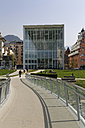 Italy, South Tyrol, Trentino-Alto Adige, Bolzano, Museum of Modern Art at Eisack river - GFF000449