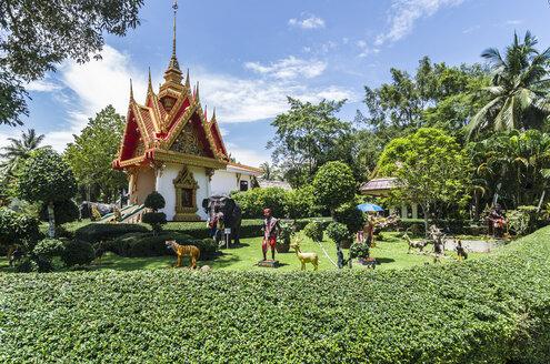 Thailand, Phang Nga Province, near Khao Lak, Wat Khomniyaket - THA000280