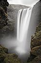 Iceland, Sudurland, Skogafoss waterfall - STC000007