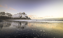 Iceland, Black sandy beach of Stokksnes - STCF000028
