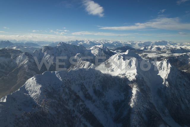 Austria, Salzkammergut, View of Alps - STCF000037