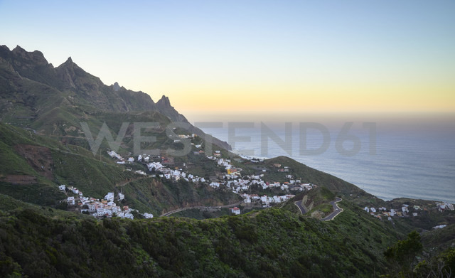 Spain, Canary Islands, Teneriffe, Houses of Taganana - STCF000045