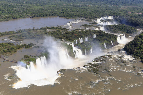 South America, Brazil, Parana, Iguazu National Park, Iguazu Falls - FOF006588