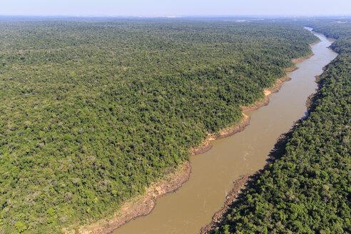 South America, Brazil, Parana, Iguazu National Park, Iguazu river - FOF006589