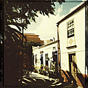 Facade, facades, San Andres, La Palma, Canary Islands, Spain - SEF000681