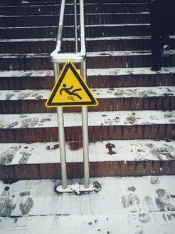 Austria, Caution: Slippery! - BRF000544