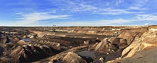 Germany, Saxony, Leipzig, Brown coal mining - SCH000160