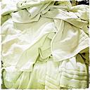 Used towels, guest laundry, Fuerteventura, Spain - DRF000653