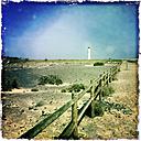 Lighthouse of Morro Jable, Fuerteventura, Spain - DRF000664