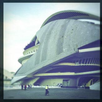 Opera (Palau de les Arts Reina Sofía), City of Arts and Sciences (Ciudad de las Artes y de las Ciencias), architect Santiago Calatrava, Spain, Valencia - DIS000782