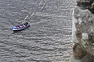 UK, Scotland, Boat at sea - FD000025