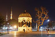 Turkey, Istanbul, Turkey, Istanbul, Kaiser Wilhelm fountain at Hippodrome of Constantinople - SIEF005287