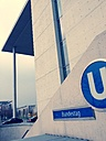 Subway sign Bundestag, Berlin, Germany - RIM000231