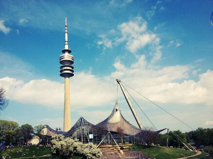 Olympic Tower, TV Tower, Olympic Park, Munich, Germany - RIMF000273