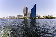 UAE, Dubai, Al Rigga, Highrise buildings at the creek - THAF000292