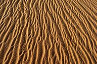 Algeria, Tassili n Ajjer, Sahara, sand ripples on a desert dune - ESF001005