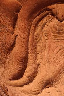 Algeria, Tassili n Ajjer, Sahara, wind erosion on soft sandstone layers - ESF001011