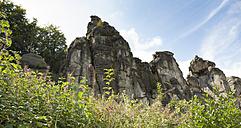 Germany, North Rhine-Westphalia, Teutoburg Forest, Externsteine - FCF000078