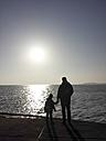 Ruegen, Baltic Sea, Mecklenburg-Vorpommern, Island, winter, Beach, sea - MJF001040