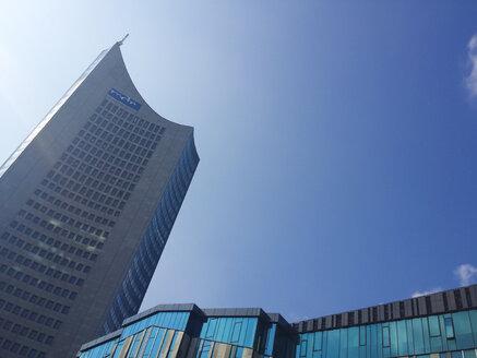 Leipzig, Saxony, Germany, highrise, MDR, University - MJ001007