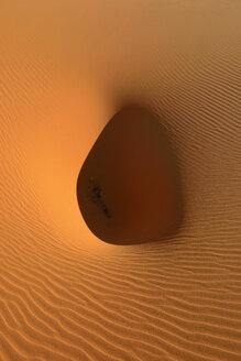 Algeria, Tassili n Ajjer, Sahara, sand ripples on a desert dune - ESF001024