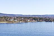 Scandinavia, Norway, Oslo, Coast and cityview - JFEF000361
