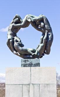 Scandinavia, Norway, Oslo, Frogner Park, Vigeland Sculpture Park, Naked sculptures - JFE000376